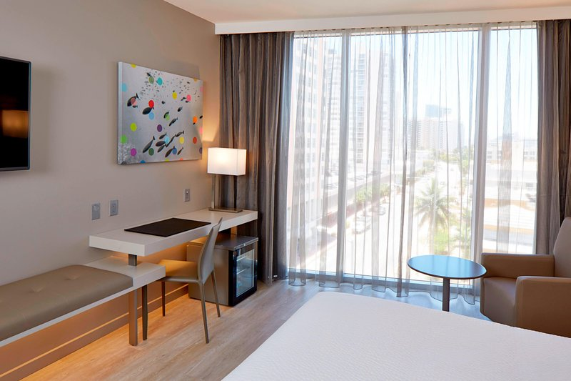 AC Hotel Miami Beach-King City View Guest Room - Work Desk<br/>Image from Leonardo