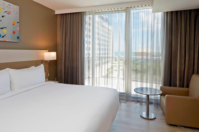 AC Hotel Miami Beach-King Ocean View Deluxe Guest Room - Balcony<br/>Image from Leonardo