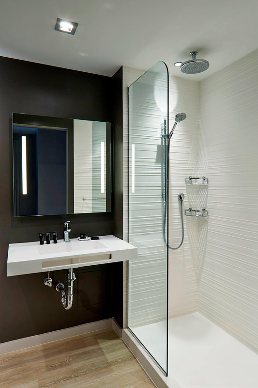 AC Hotel Miami Beach-Guest Bathroom<br/>Image from Leonardo