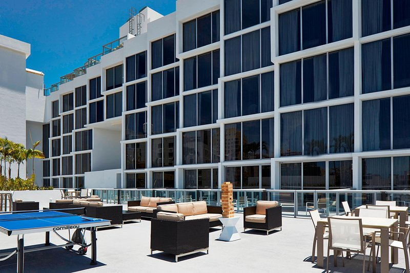 AC Hotel Miami Beach-Outdoor Rooftop Patio<br/>Image from Leonardo