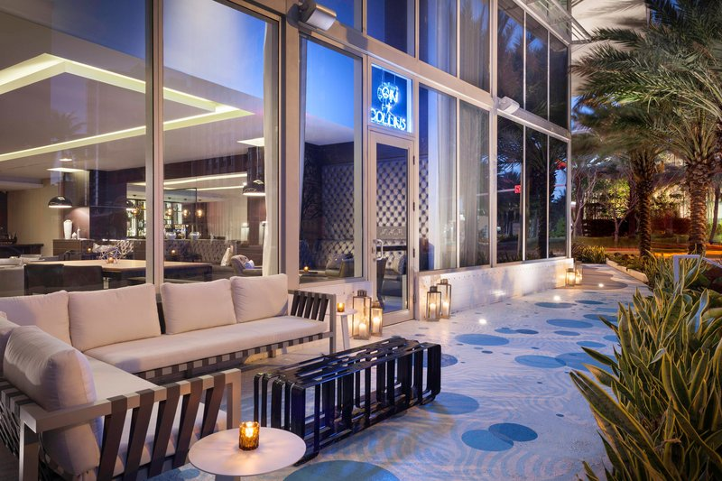 AC Hotel Miami Beach-Gin + Collins Outdoor Patio<br/>Image from Leonardo