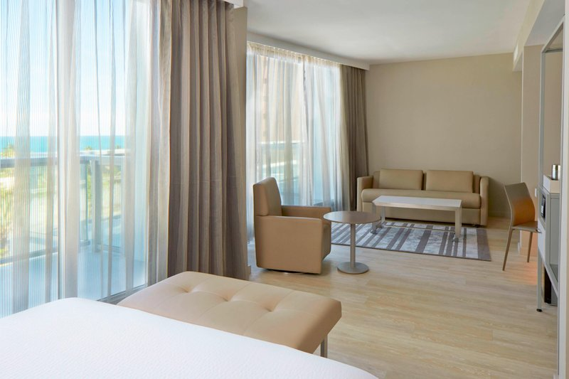 AC Hotel Miami Beach-Queen/Queen Ocean View Suite - Living Area<br/>Image from Leonardo