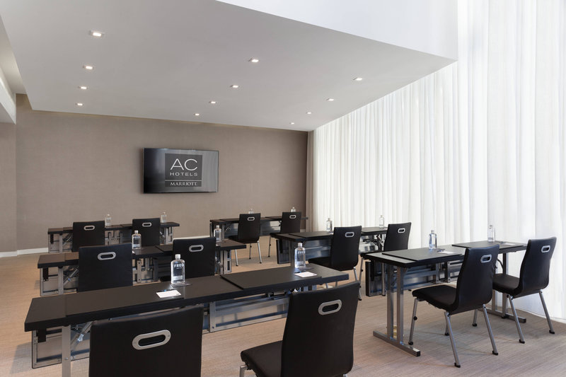 AC Hotel Miami Beach-Barcelona Room - Classroom Setup<br/>Image from Leonardo