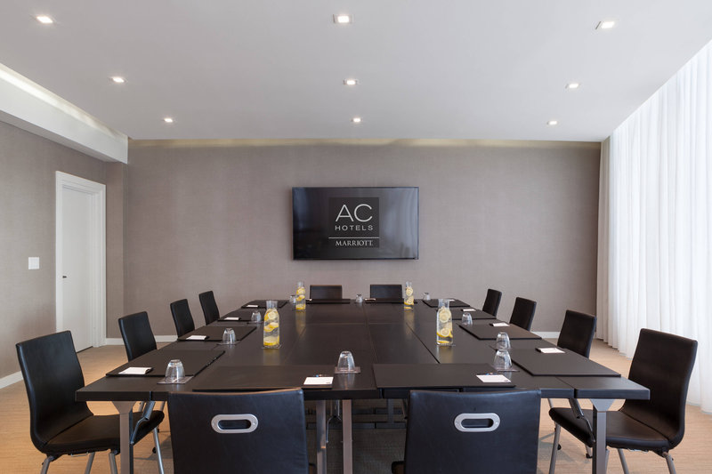 AC Hotel Miami Beach-Barcelona Room - Boardroom Setup<br/>Image from Leonardo