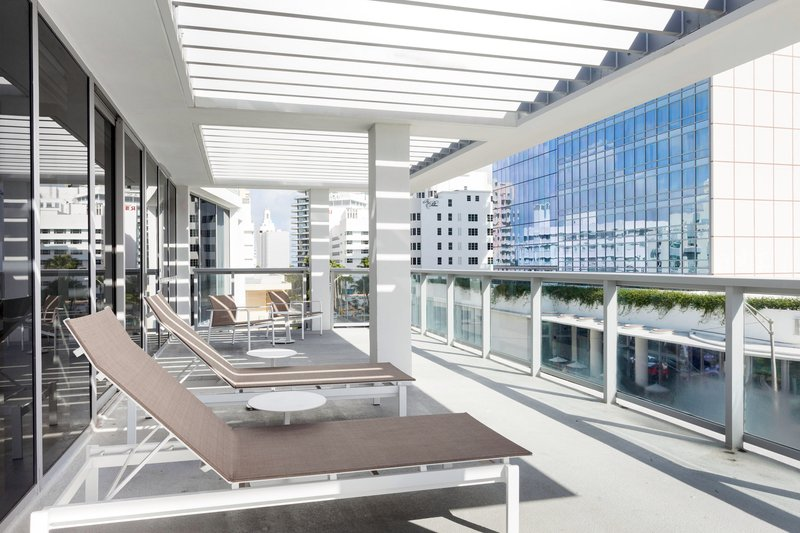 AC Hotel Miami Beach-King Ocean View Suite - Balcony View<br/>Image from Leonardo