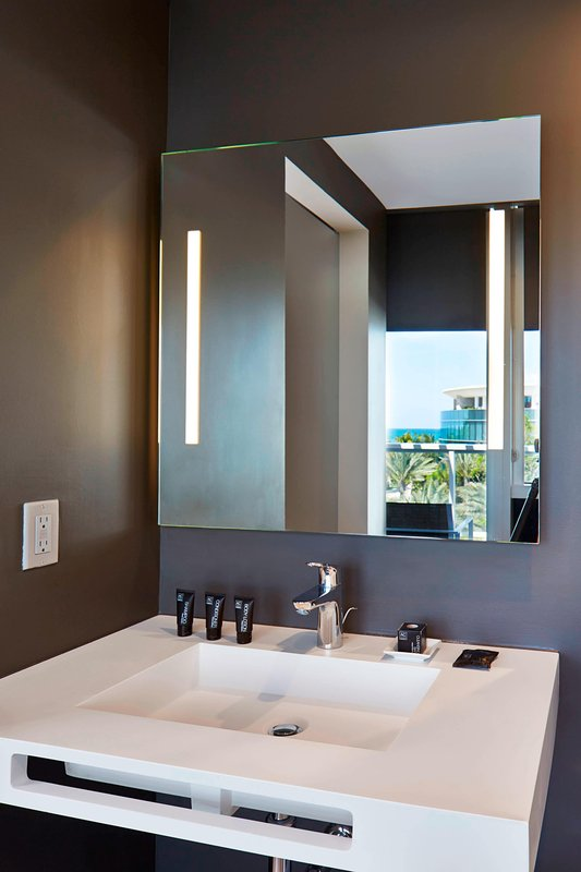 AC Hotel Miami Beach-Suite Bathroom Vanity<br/>Image from Leonardo