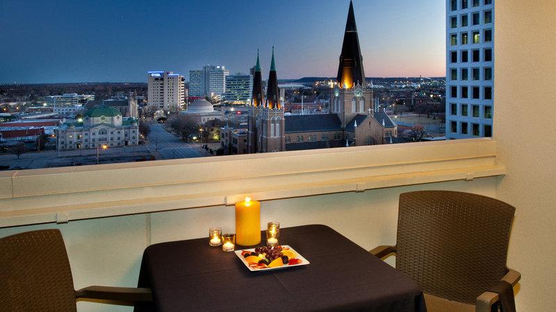 Holiday Inn Tulsa City Center-View from Room<br/>Image from Leonardo