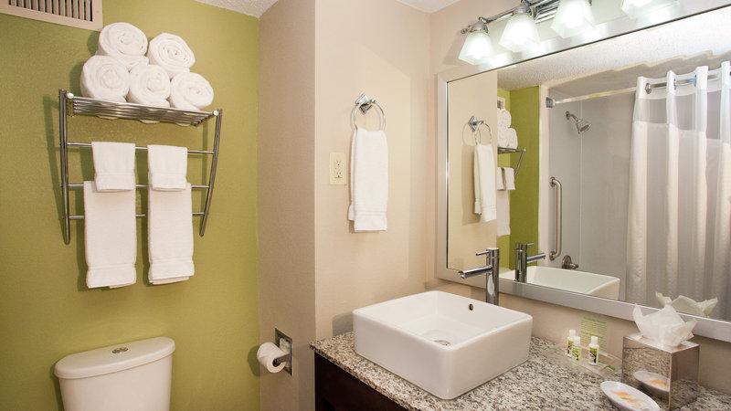 Holiday Inn Tulsa City Center-Guest Bathroom<br/>Image from Leonardo