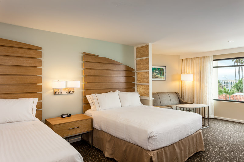 Holiday Inn Express & Suites La Jolla - Beach Area-Stretch out with extra space in our two queen studio suite.<br/>Image from Leonardo