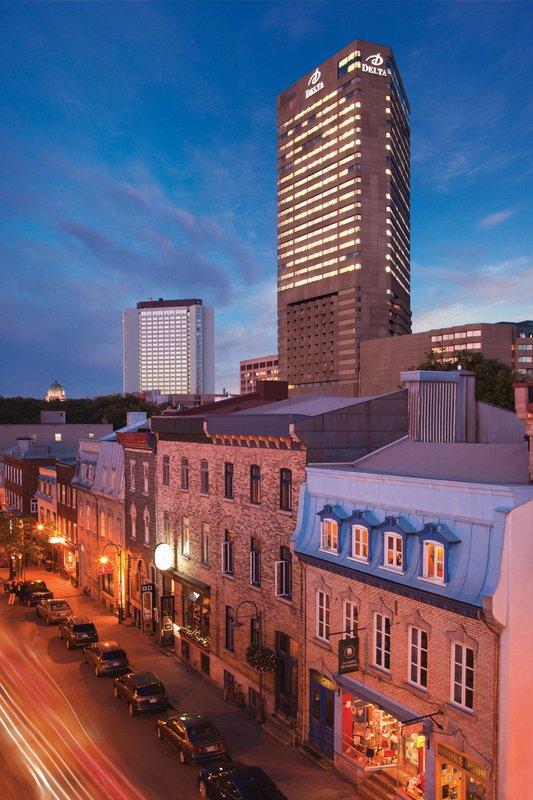 Delta Hotels by Marriott Quebec-Exterior<br/>Image from Leonardo