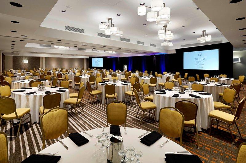 Delta Quebec-Ballroom - Banquet Setup<br/>Image from Leonardo