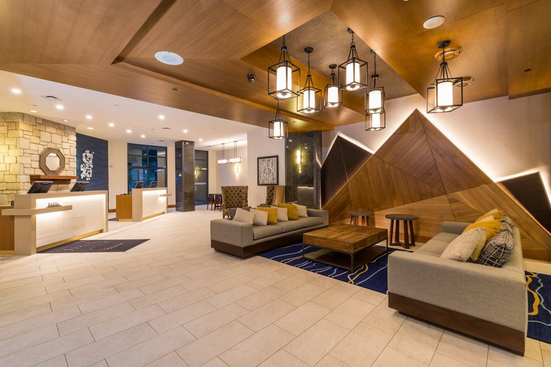 Delta Whistler Village Suites-Lobby<br/>Image from Leonardo