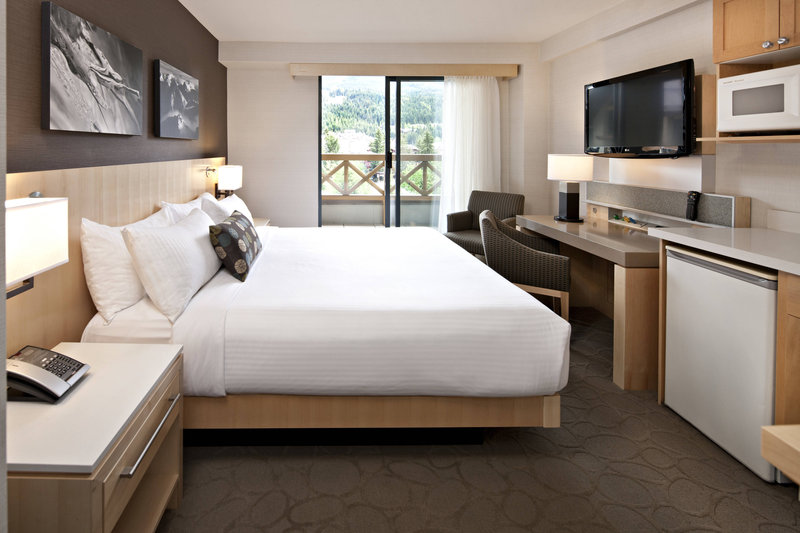Delta Whistler Village Suites-Queen Guest Room<br/>Image from Leonardo