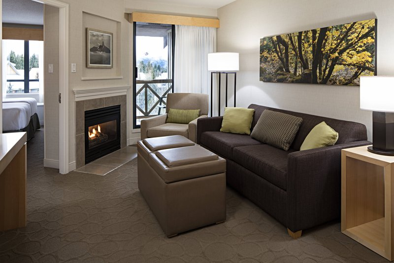 Delta Whistler Village Suites-One-Bedroom Twin/Twin Suite Living Area<br/>Image from Leonardo