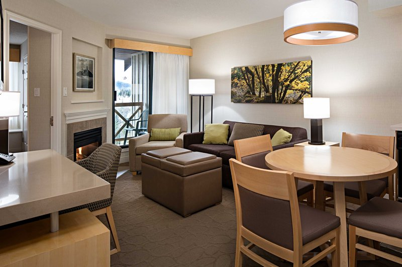 Delta Whistler Village Suites-One-Bedroom Suite Dining Area<br/>Image from Leonardo