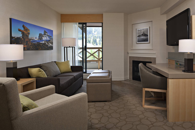 Delta Whistler Village Suites-Suite Living Area<br/>Image from Leonardo