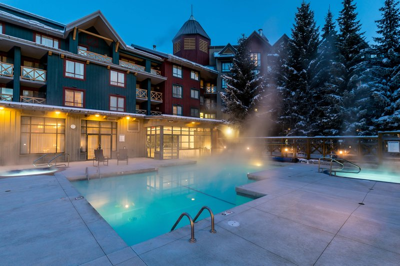 Delta Whistler Village Suites-Outdoor Pool<br/>Image from Leonardo