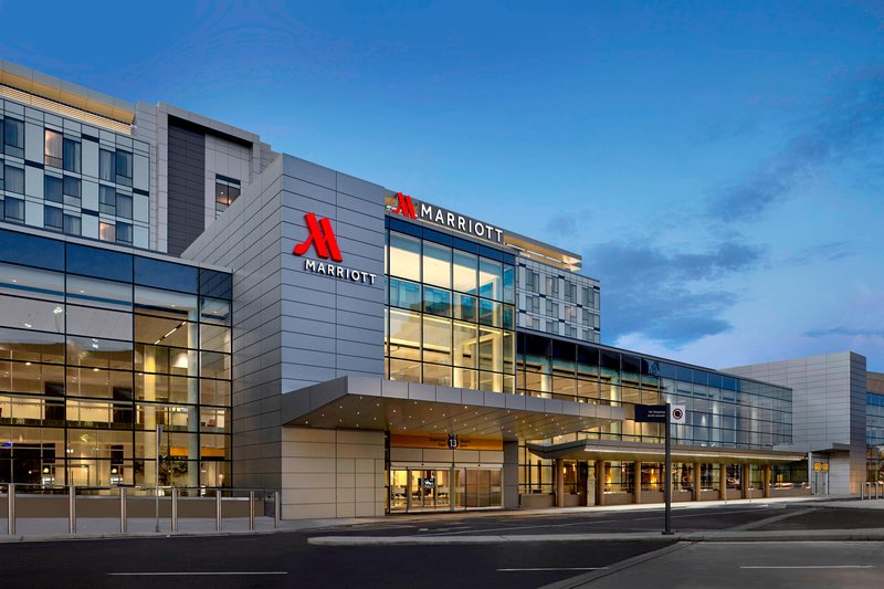 Calgary Airport Marriott In-Terminal Hotel-Exterior<br/>Image from Leonardo