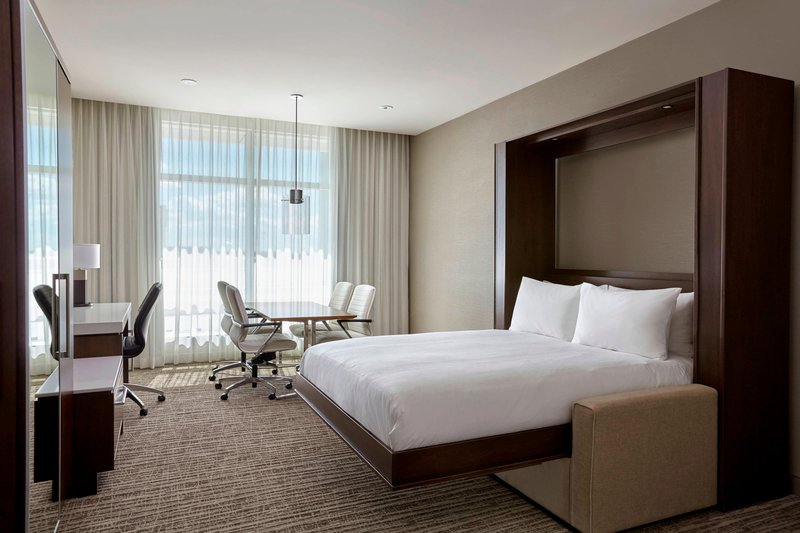 Calgary Airport Marriott In-Terminal Hotel-Hospitality Guest Room<br/>Image from Leonardo
