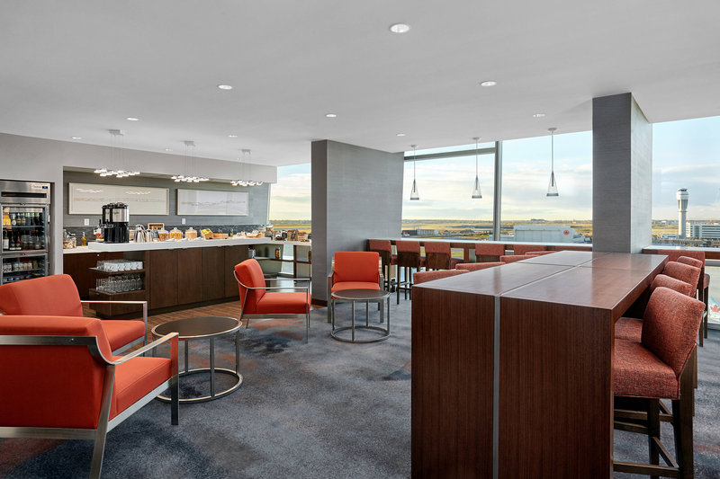 Delta Hotel Calgary Airport In-Terminal-M Club Lounge<br/>Image from Leonardo