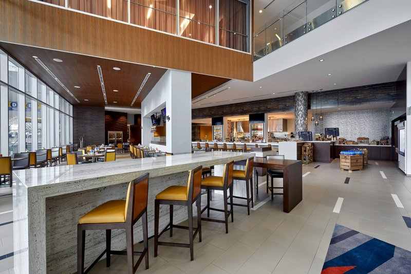 Delta Hotel Calgary Airport In-Terminal-YAKIMA Social Kitchen + Bar<br/>Image from Leonardo