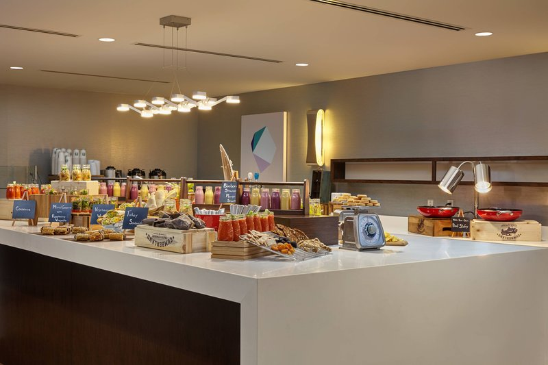 Calgary Airport Marriott In-Terminal Hotel-Catering Services<br/>Image from Leonardo