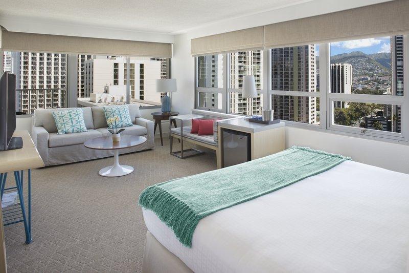 Queen Kapiolani Hotel - CVKCity View Balcony King <br/>Image from Leonardo