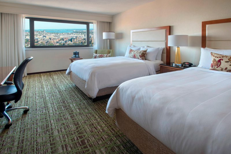 Boston Marriott Copley Place-Double/Double River or City View Guest Room<br/>Image from Leonardo