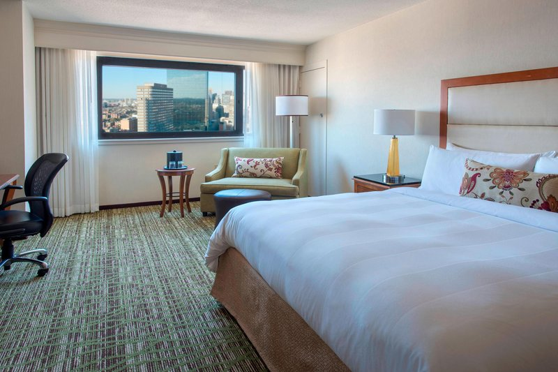 Boston Marriott Copley Place-King River or City View Guest Room<br/>Image from Leonardo