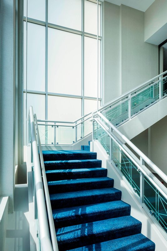 Boston Marriott Newton-Grand Ballroom Staircase<br/>Image from Leonardo