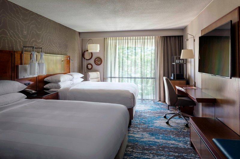 Boston Marriott Newton-Double/Double Guest Room<br/>Image from Leonardo