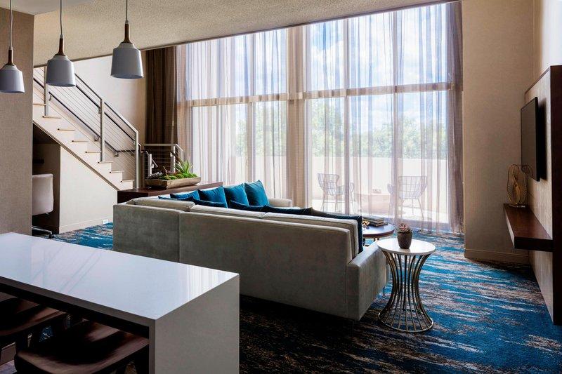 Boston Marriott Newton-Presidential Suite - Living Area<br/>Image from Leonardo