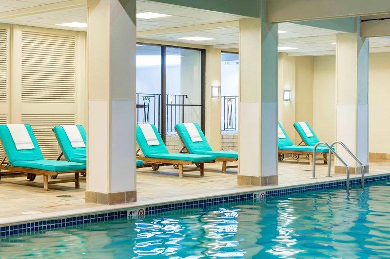 Boston Marriott Newton-Indoor Pool - Lounge Seating<br/>Image from Leonardo