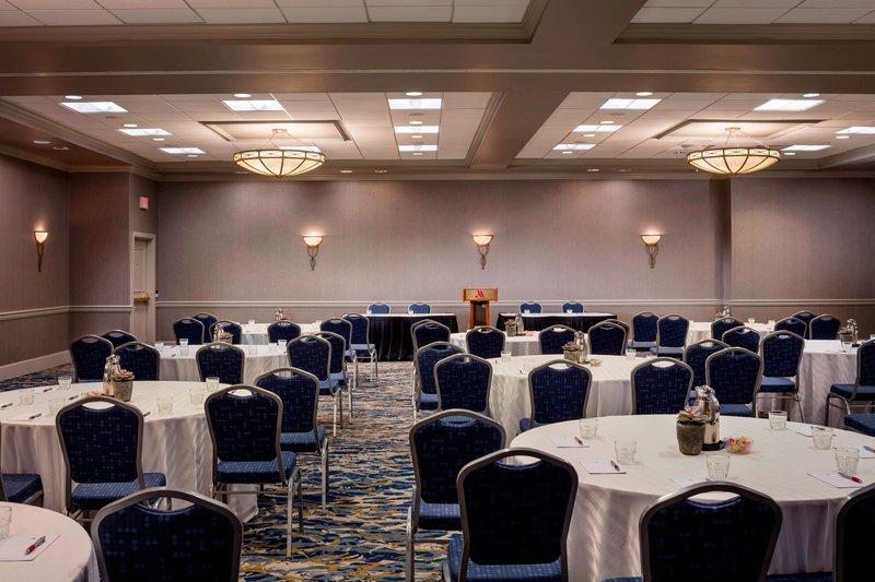 Boston Marriott Newton-Charles River Room - Banquet Setup<br/>Image from Leonardo
