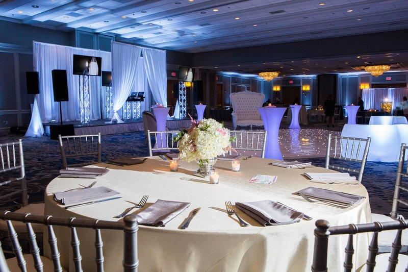 Boston Marriott Newton-Grand Ballroom - Banquet Setup<br/>Image from Leonardo