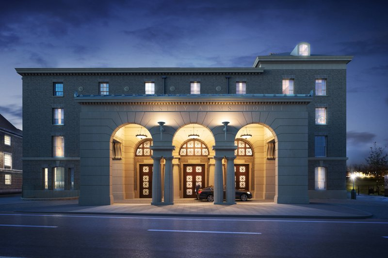 University Arms Hotel, Autograph Collection-Entrance<br/>Image from Leonardo