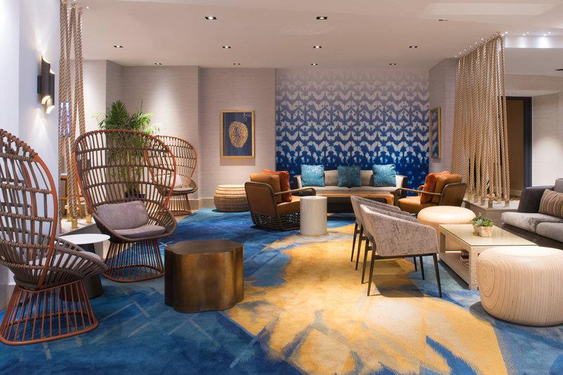 Renaissance Newport Beach Hotel-Lounge Area<br/>Image from Leonardo