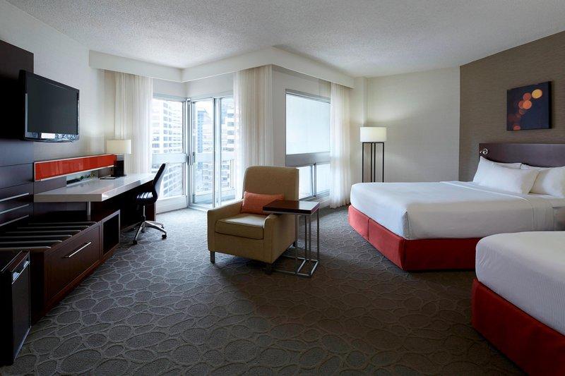 Delta Hotels by Marriott Montreal - Queen/Queen Deluxe Guest Room <br/>Image from Leonardo