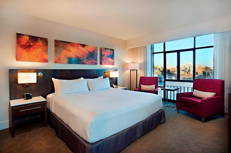 Delta Hotels by Marriott Victoria Ocean Point Resort-King Guest Room - Water View<br/>Image from Leonardo
