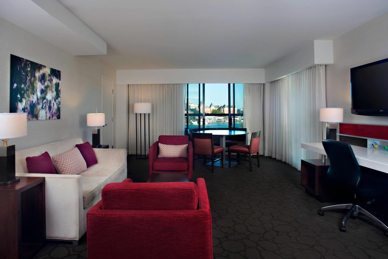 Delta Hotels by Marriott Victoria Ocean Point Resort-One-Bedroom King Suite - Living Area<br/>Image from Leonardo