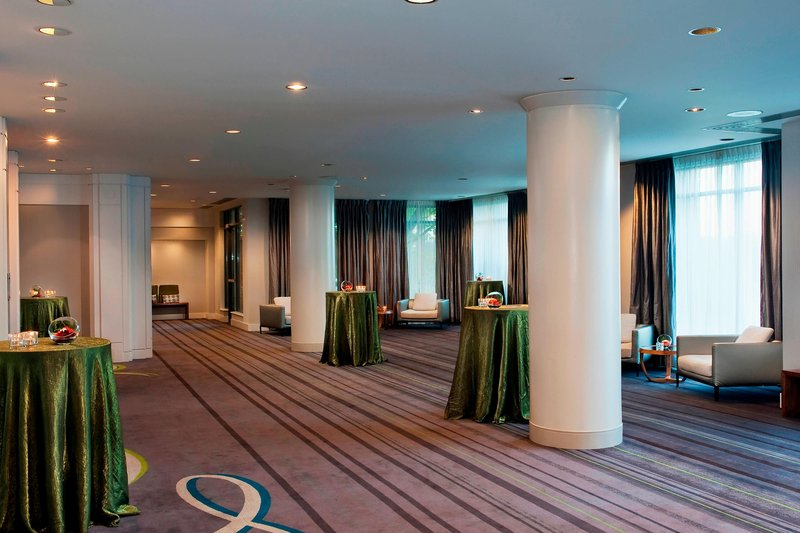 Delta Hotels by Marriott Victoria Ocean Point Resort-The Arbutus Ballroom Foyer - Reception Setup<br/>Image from Leonardo