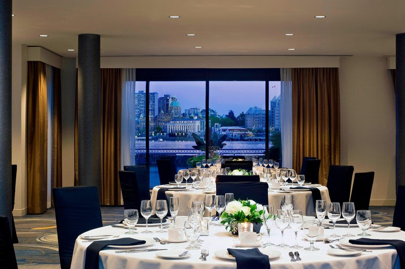 Delta Hotels by Marriott Victoria Ocean Point Resort-Harbour Room - Banquet Setup<br/>Image from Leonardo
