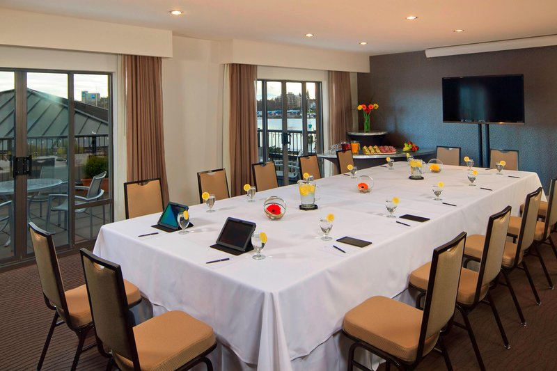 Delta Hotels by Marriott Victoria Ocean Point Resort-Cowichan Room Meeting Room - Conference Setup<br/>Image from Leonardo