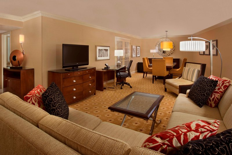 Marriott Toronto Airport Hotel-Two Room Suite Living Area<br/>Image from Leonardo