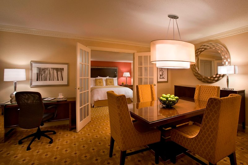 Marriott Toronto Airport Hotel-One-Bedroom Suite Dining Area<br/>Image from Leonardo