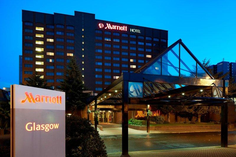 Marriott Glasgow-Exterior<br/>Image from Leonardo