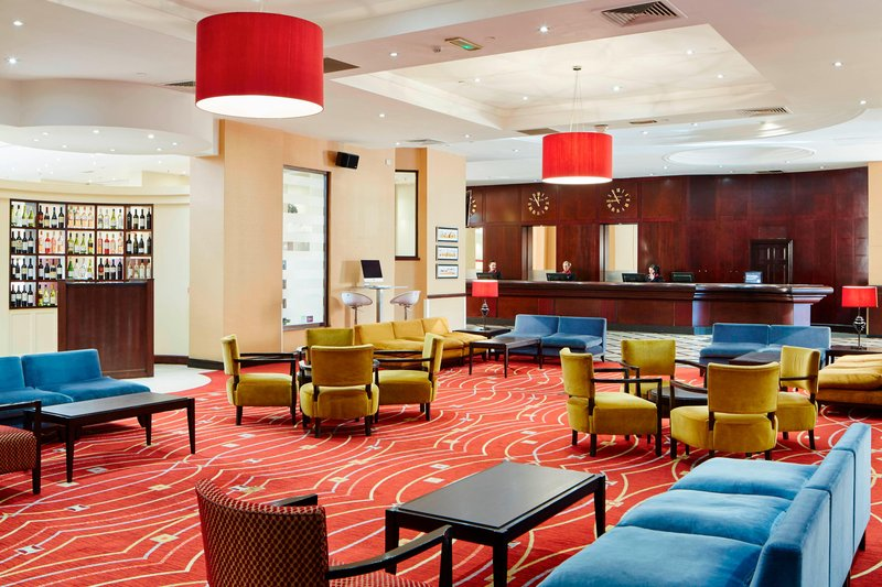 Marriott Glasgow-Lobby<br/>Image from Leonardo