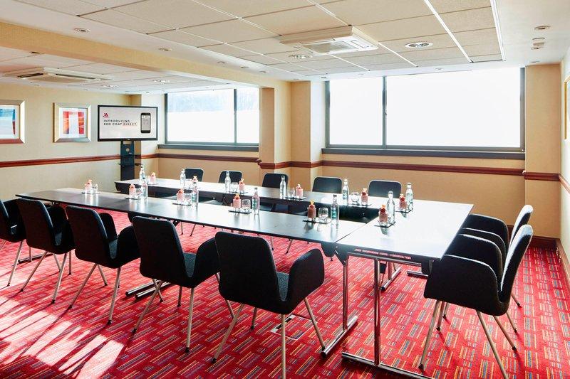 Marriott Glasgow-Burrell Meeting Room - U-Shape Setup<br/>Image from Leonardo