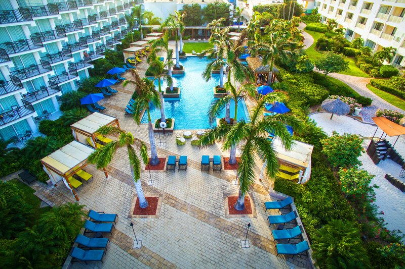 Aruba Marriott Resort - H2 Oasis Adult Outdoor Pool <br/>Image from Leonardo