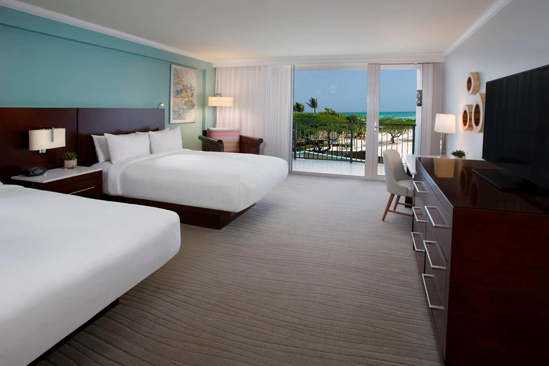 Aruba Marriott Resort - Queen/Queen Limited View Guest Room <br/>Image from Leonardo